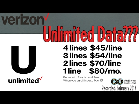Understanding Verizon's NEW Unlimited Data Plans