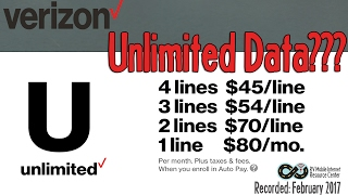 Understanding Verizon's NEW/old Unlimited Data Plans
