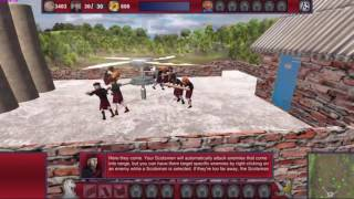 Defend the Highlands World Tour Gameplay (No commentary, Strategy,PC game).