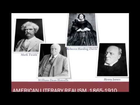 ENGL 3170 Micro-lecture: American Literary Realism