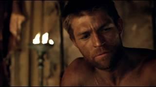 Сериал Спартак. Ганник - я буду пить в твою честь и сражаться когда позовут