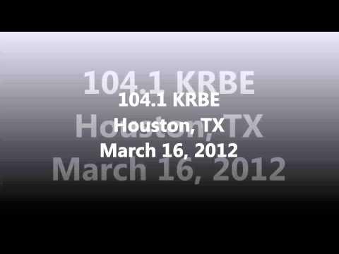 Aircheck  1041 KRBE Houston, TX March 16, 2012