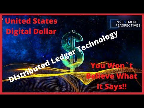 Ripple/XRP-United States Digital Dollar White Paper-Bond Market,FDIC And More