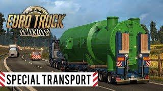 Ładunki ponadgabarytowe w ETS2 - Special Transport