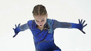 Alexandra Trusova Grand Prix Final 2019 20 Free Program Record 4 Flip
