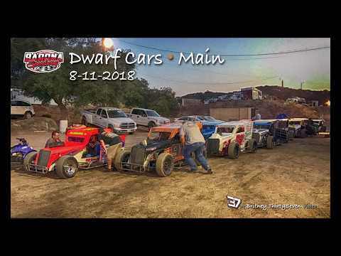 Barona Speedway Main • Dwarf Car 8-11-2018