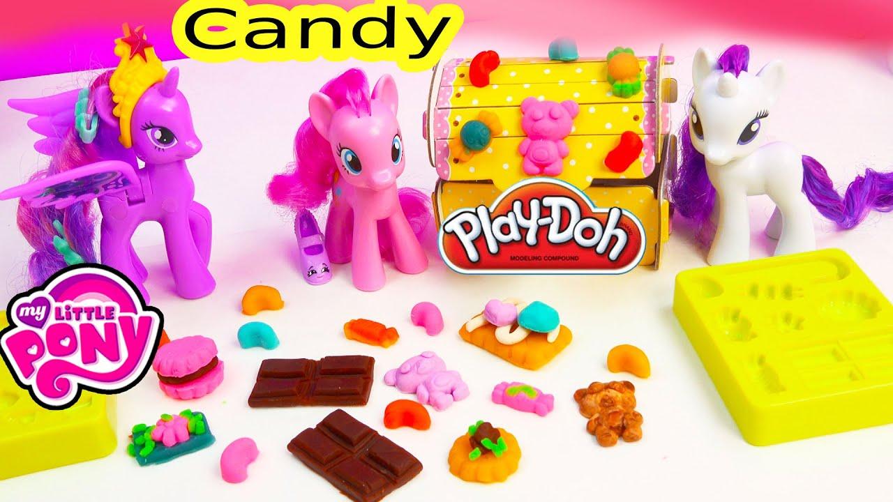 Play Doh My Little Pony Candy Playdoh Treats Mlp Pinkie Pie Princess