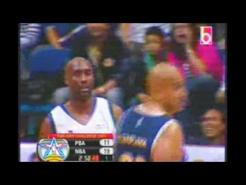 NBA Asia Challenge '09 (Manila) : Vintage Allan Caidic Drains 5 Straight Triples vs. NBA Legends