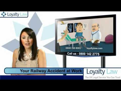Your Railway Accident at Work Compensation