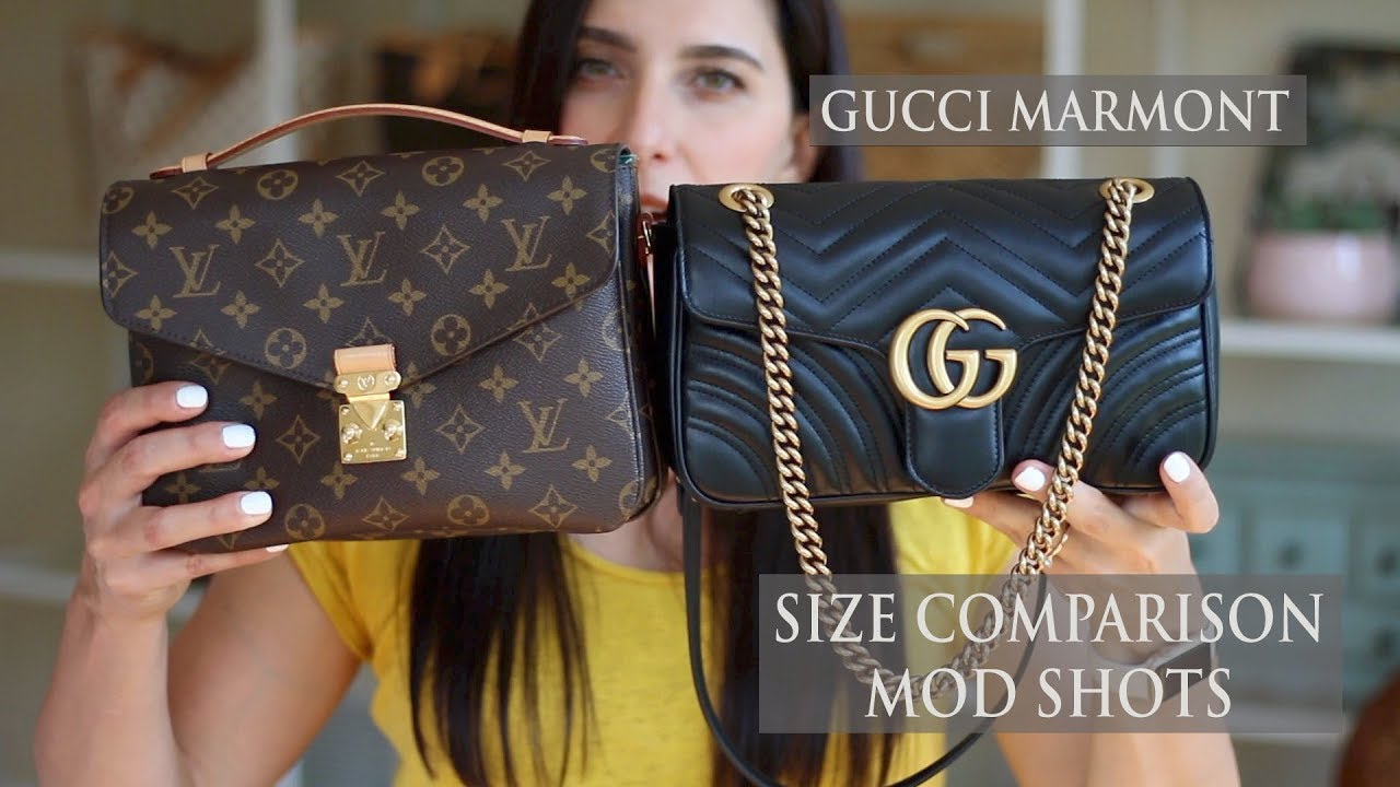Gucci Gg Marmont Bag Vs Louis Vuitton Pochette Metis