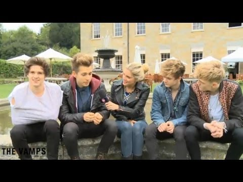 The Vamps & AME interview @ SD2 Festival with Ashley James - Clothes Show TV