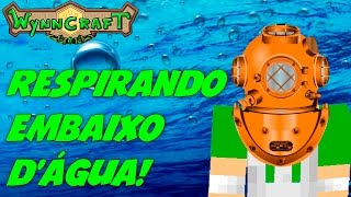 Minecraft: MMORPG - Respirando embaixo da água? - WynnCraft #4