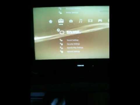 how to change ps3 video settings blind youtube rh youtube com PS3 Display Settings Menu 1080P PS3 Settings