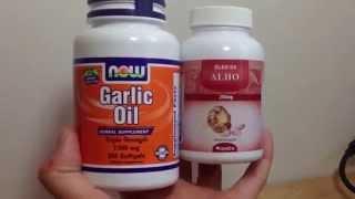 Comprei Mostrei: óleo de alho (garlic oil) Thumbnail