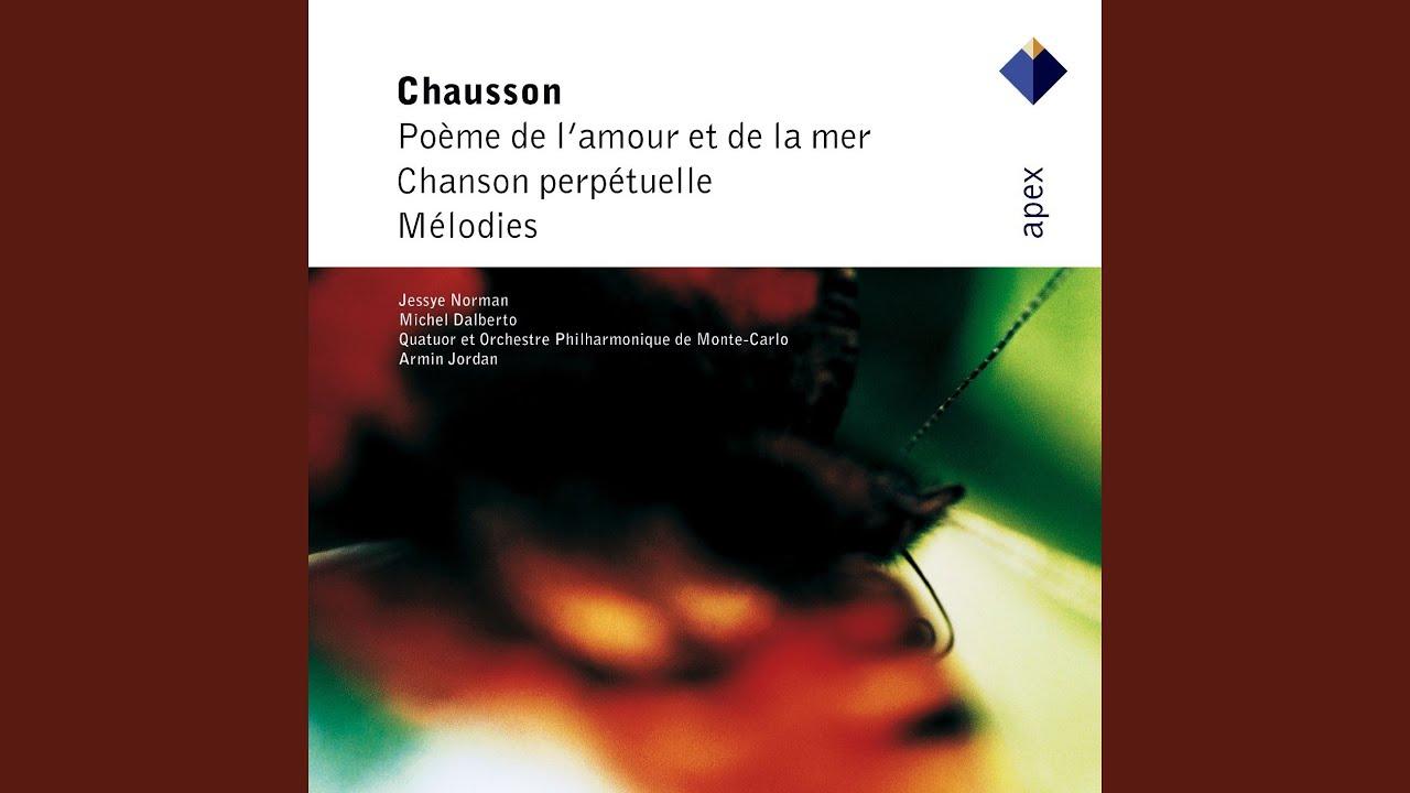 Chausson Poème De Lamour Et De La Mer Op19 Ii Interlude