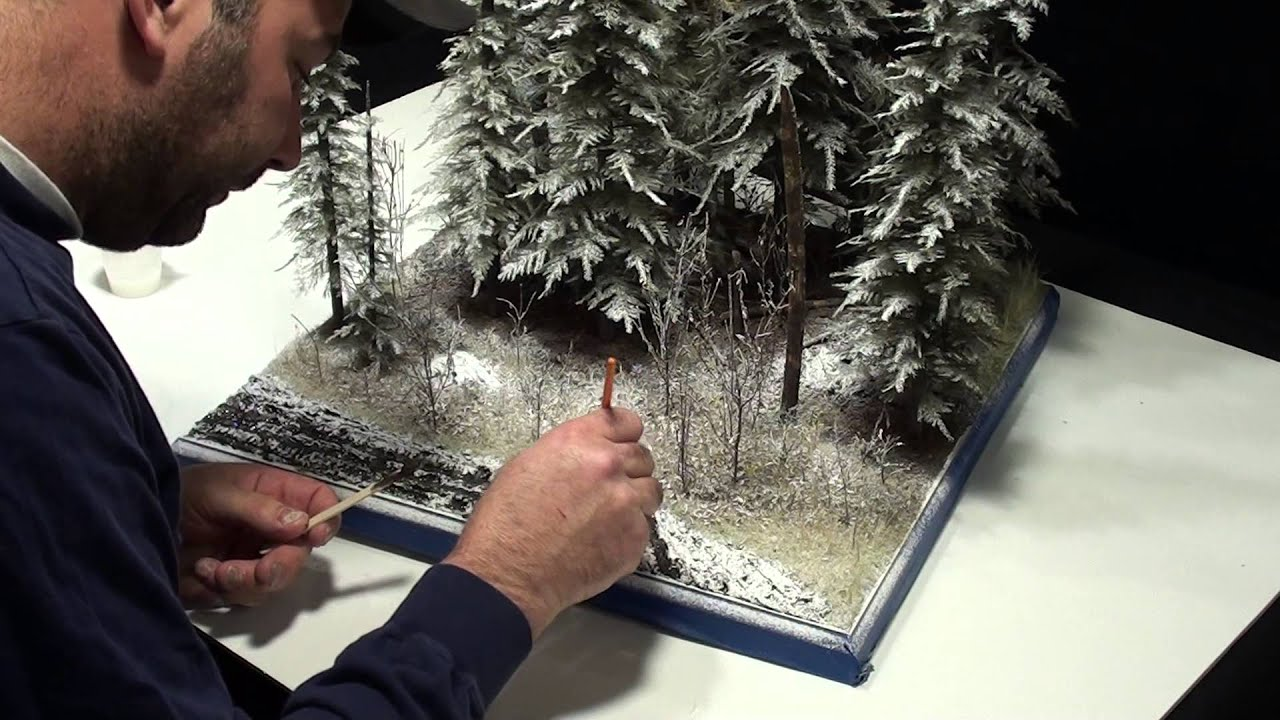 Ardennes 44 Diorama Part 2 Let It Snow Funnycat Tv