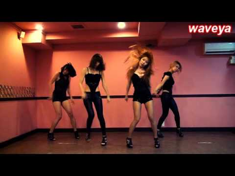 Poker face Lady GaGa Dance - Waveya 웨이브야 Korea Dance group - 동영상