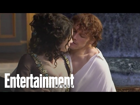 Outlander: Behind The Scenes with Sam Heughan & Caitriona Balfe | Entertainment Weekly