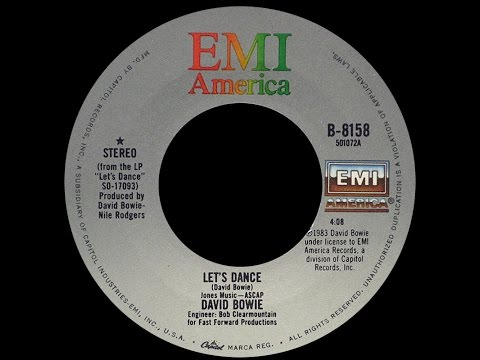 David Bowie ~ Let's Dance 1983 Funky Purrfection Version