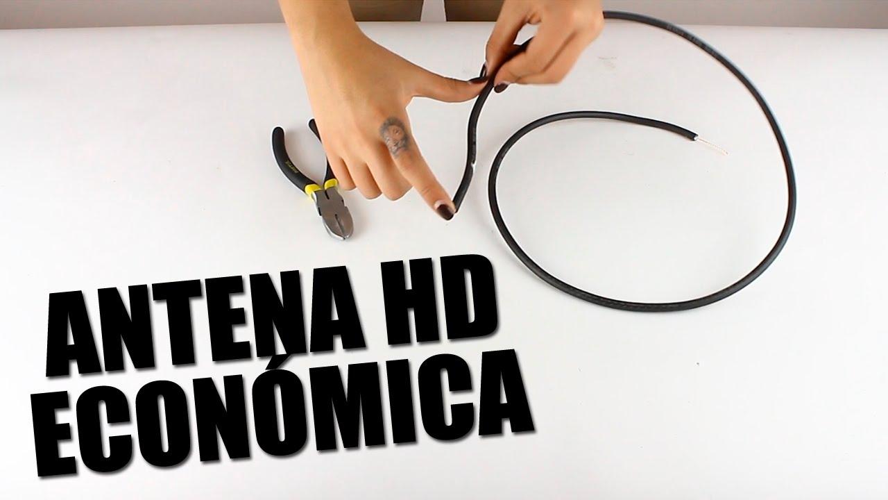 Haz una antena hd para el apag n anal gico cellegrini funnydog tv - Antena tdt interior casera ...