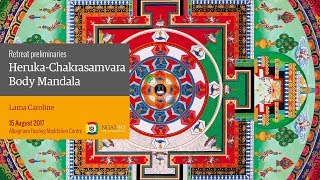 Heruka-Chakrasamvara Body Mandala retreat (English – Italian) – 16 August 2017