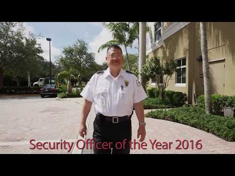 G4S Secure Solutions (USA) 2016 Security Officer Of The Year - Sgt. Douglas Dang