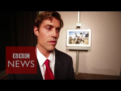 James Foley ''I'm drawn to the human rights side of the conflict' - BBC News