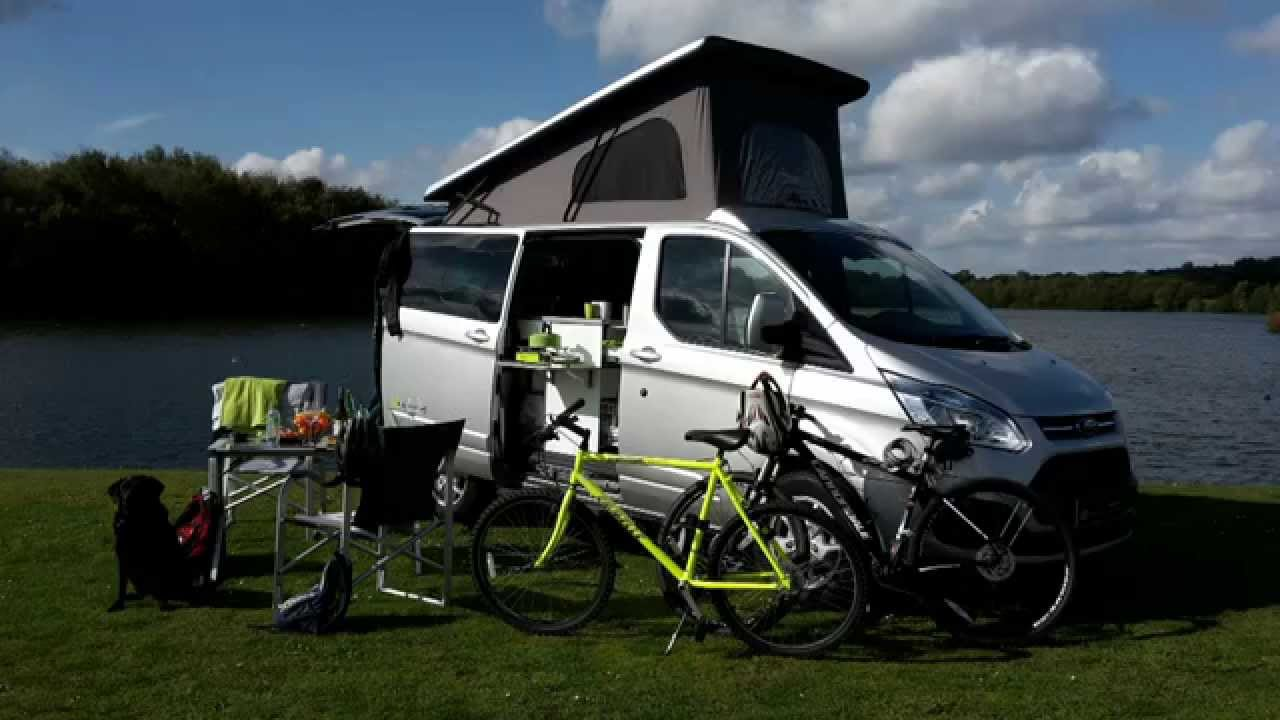 ford transit custom camper auto campers day van youtube. Black Bedroom Furniture Sets. Home Design Ideas