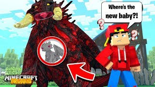 Minecraft DRAGONS - THE NEW BABY NIGHT FURY IS MISSING?!!