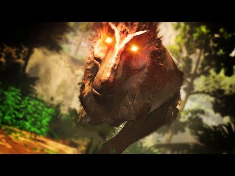 CAN A RAPTOR FLY? HUNTED BY A T-REX!   Saurian #8