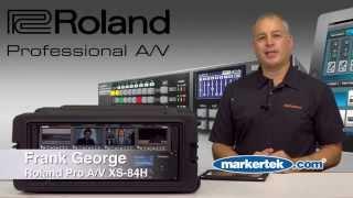 roland pro a v xs 84h matrix switcher