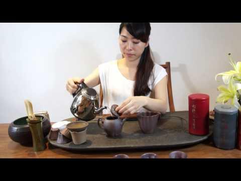 Make Taiwanese Dong Ding Oolong Tea, Xiang Ye Tea shop China