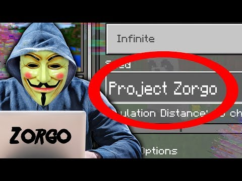 NEVER PLAY On The PROJECT ZORGO SEED In Minecraft Pocket Edition (Hacker Project Zorgo World)
