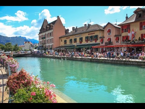 Annecy, Auvergne-Rhône-Alpes, France - Venice of the Alps