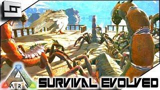 SCORPION TAMING for KIBBLE! ARK: Survival Evolved E20 ( Ark Ragnarok Map )