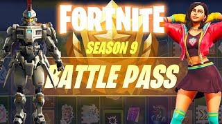 Fortnite| Season 9 Battle Pass Purchase!
