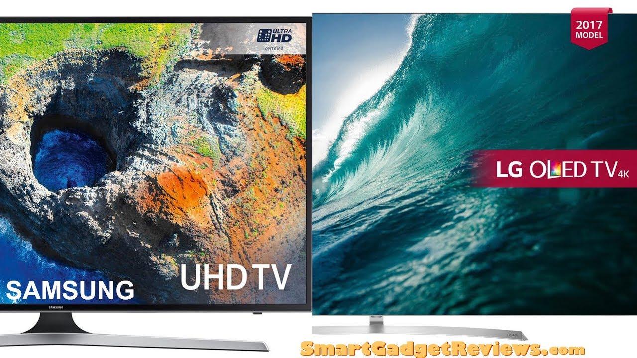 Samsung 75 Vs LG OLED 65 4k Smart Ultra HD HDR Television