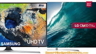 Samsung 75 vs LG OLED 65 4k Smart Ultra HD HDR Television 2018
