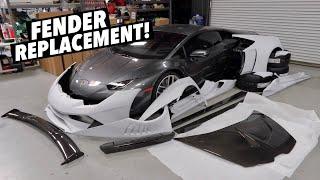 homepage tile video photo for I Bought a Lamborghini Huracan Widebody Kit!