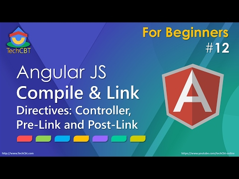 AngularJS Directives - Compile and Link in depth - Part 1
