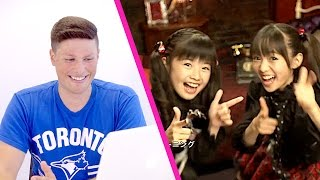 North Americans React to BABYMETAL | 老外看蘿莉金屬 (Doki Doki Morning, Road of Resistance, Megitsune)