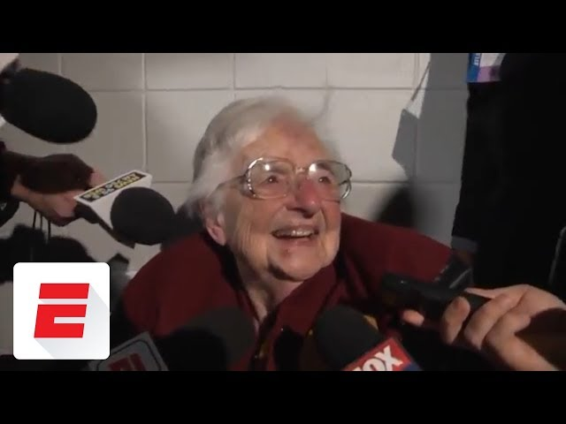 Sister Jean reacts to Loyola-Chicago reaching the Final Four | ESPN