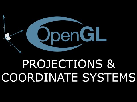 Modern OpenGL 3.0+ [GETTING STARTED] Tutorial 5 - Projections and Coordinate Systems