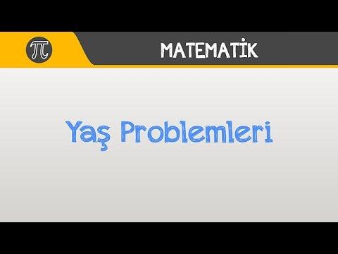 Yaş Problemleri | Matematik