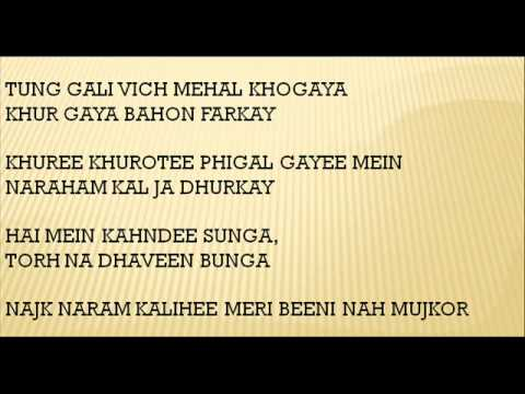 What is the meaning of the song Ambarsariya from the film ...