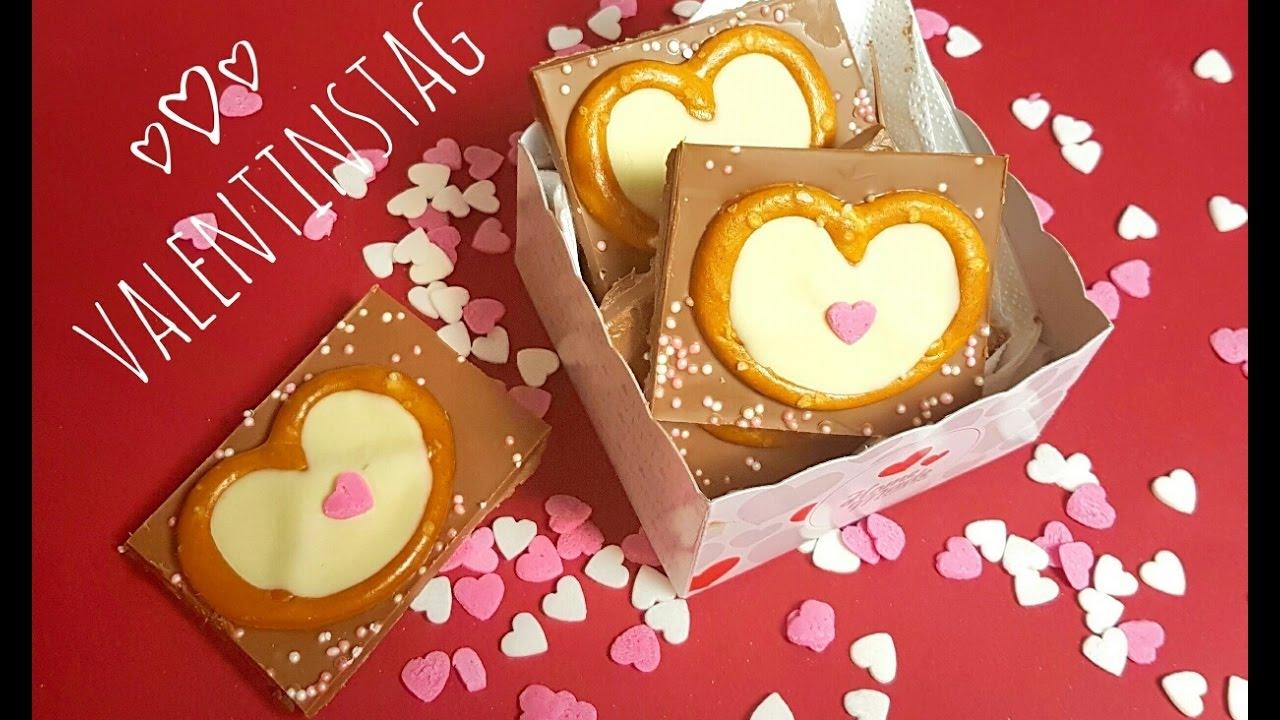 DIY Walentynki /Walentynkowa Czekolada / Valentinstag Schokolade