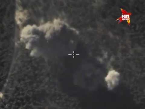 Российская авиационная группа продолжает наносить удары по объектам ИГИЛ