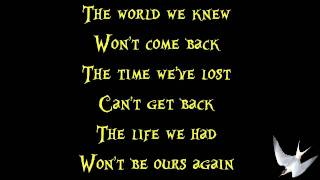 Three Days Grace - Never Too Late [Lyrics] HD