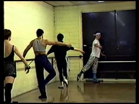 Backstage Dance Studio ballet class in Las Vegas in the early 90s.
