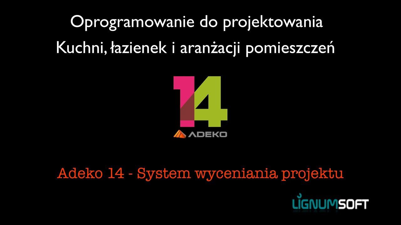 Adeko14 - System wyceniania projektów